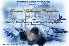 Lockheed Martin: 100% on Time and Quality